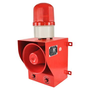 杭亚 声光报警器,24VDC 135db LED 音量音调