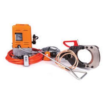 贝特无线电动带电电缆防护安全切刀,最大切割Φ132mm带铠装的铜/铝电缆,出力10T(ESIC-132-35KV)