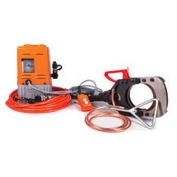 贝特电动带电电缆防护安全切刀,最大切割Φ132mm带铠装的铜/铝电缆,出力10T(EICT-132-35KV)