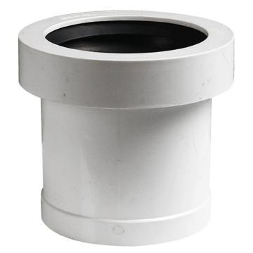 万鑫军联/WXJL 国标U-PVC排水管件 伸缩节,50mm