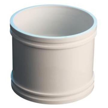 万鑫军联/WXJL 国标U-PVC排水管件 管箍,50mm