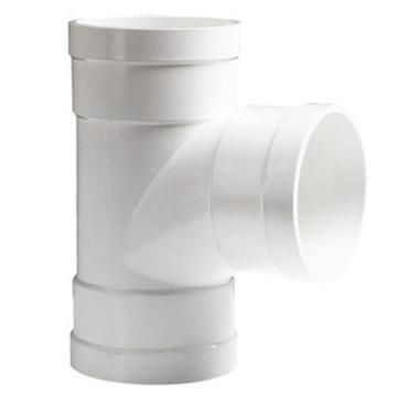 万鑫军联/WXJL 国标U-PVC排水管件 顺水三通,75*50mm
