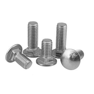 東明 GB12小頭馬車螺栓/貨架螺絲/橋架螺絲,M6-1.0X30,不銹鋼304,強度A2-70,20個/包