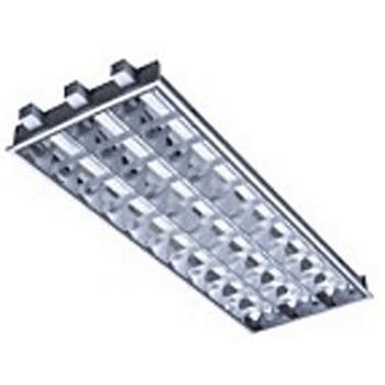 飞利浦 LEDT8格栅灯1197x597 TBS068 3xTLD-36WFM2 T型龙骨含3根飞凡 T8单端3X16W单灯应急 单位个
