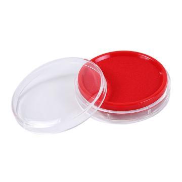 晨光 M&G 快干印台,AYZ97512A 透明圆(红色)单个