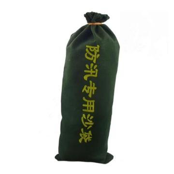 防汛沙袋,300*700mm,空袋,薄帆布