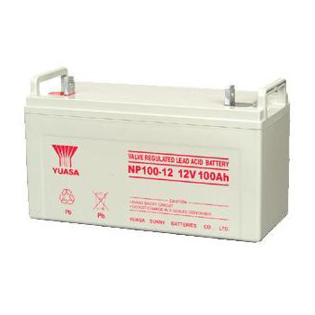 汤浅 蓄电池 标准电压12V 电池容量100Ah,NP100-12