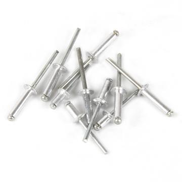 开口型铝铆钉,铁芯,M4*8(1000支/盒)