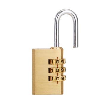 纯铜密码挂锁
