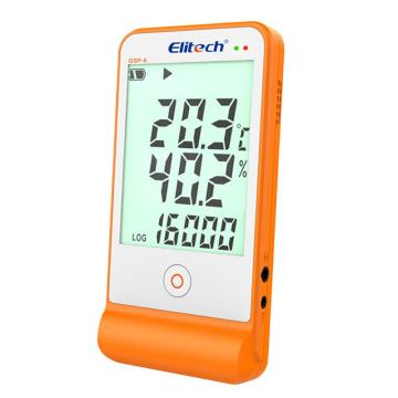 精創 帶聲光報警溫濕度計,GSP-6