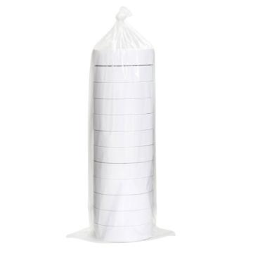 得力 棉纸双面胶带,24mm*10y 30403 12卷/袋 单位:袋