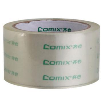 齊心 超透封箱膠帶,JT6006-6 6卷/筒 60mm*60y 透明 單位:筒