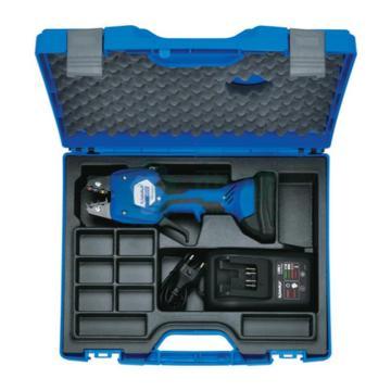 柯劳克压线钳套装,包含:压线钳EK50ML-L,锂电池RAML1,充电器LGML1,塑料盒KKEK50ML