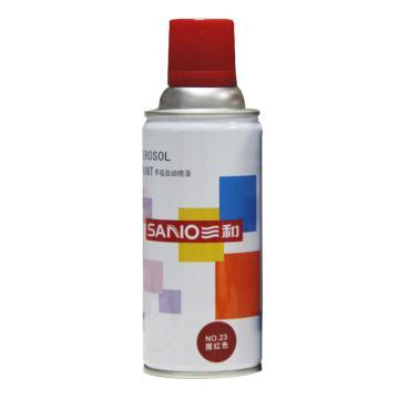 三和 自喷漆,猩红 350ml/瓶 ,12瓶/箱