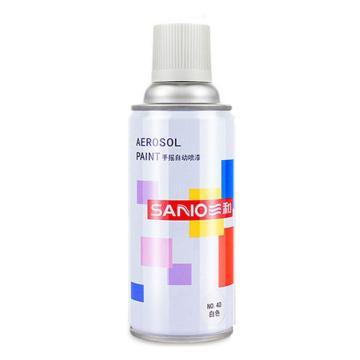 三和 自喷漆,白色 350ml/瓶 ,12瓶/箱