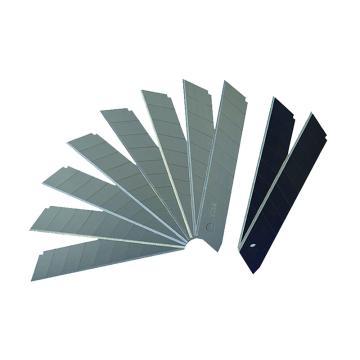 世达美工刀刀片,10件套 8节18x100mm, 93433A
