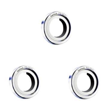 GARLOCK PS-Seal高性能改性聚四氟乙烯单唇口轴封,15x30x8mm,黑色GYLON唇口,MEC03-10007
