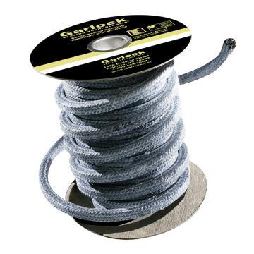 """GARLOCK 5000碳纤维盘根,5/8""""(16×16mm) 10磅/卷(约4.5公斤),使用于造纸等严禁污染行业"""