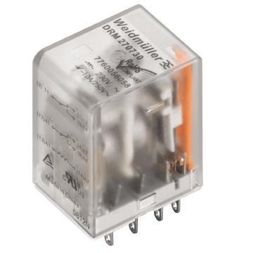 魏德米勒 中间继电器,7760056062 DRM270110L 21.71