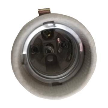 E27瓷灯头 E27螺口灯座 半牙 单位:个