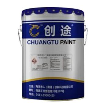 创途 丙烯酸防腐面漆,国标大红,1kg/桶