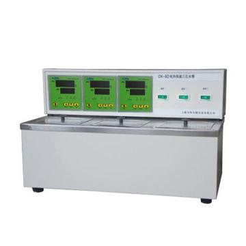 电热恒温三孔水槽,DK-8D(不锈钢内胆)
