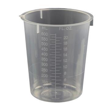 塑料烧杯,600ml,5个/包