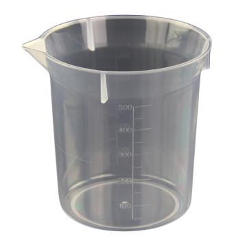 塑料烧杯,500ml,5个/包,下单前联系客服确认