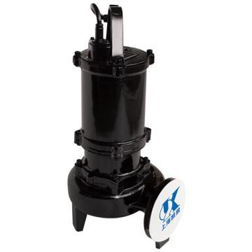 凯泉/KAIQUAN 80WQ/EC260-4.0 WQ/EC系列潜水排污泵(原80WQ/C260-4.0升级替换),标配电缆10米