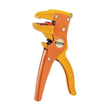 宝工 Pro'skit鸭嘴型单扁平电缆自动剥线钳,0.2~4mm2,808-080