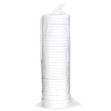 得力 棉纸双面胶带,9mm*10y 30400 32卷/袋 单位:袋