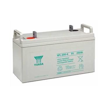 汤浅 蓄电池 NPL200-6  6V  200A
