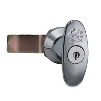 恒珠配电箱门锁,材质:锌合金,表面镀亮铬, MS302-1-1