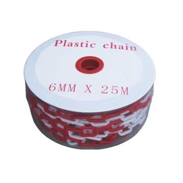 塑料链,Ф6mm,长25m,红/白