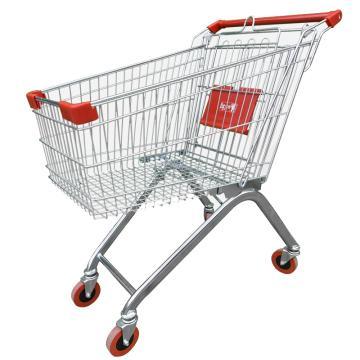 超市购物车手推车