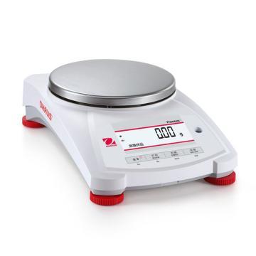 奥豪斯PX系列天平,PX2202ZH/E,量程:2200 g,可读性:0.01 g