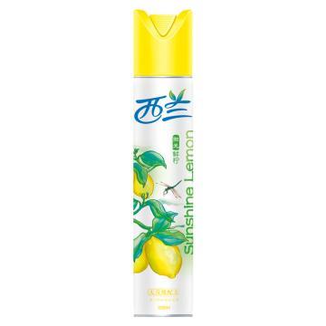 立白 西蘭空氣清新劑,(陽光鮮檸香型)320ml 20瓶/箱 單位:瓶