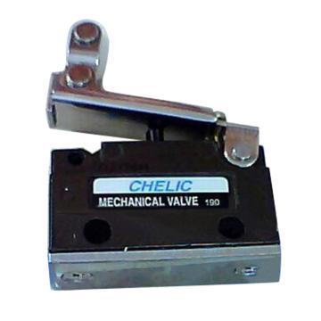 气立可CHELIC 机械阀,横向配管附法兰座,单边滚轮型,MV-15-F-03