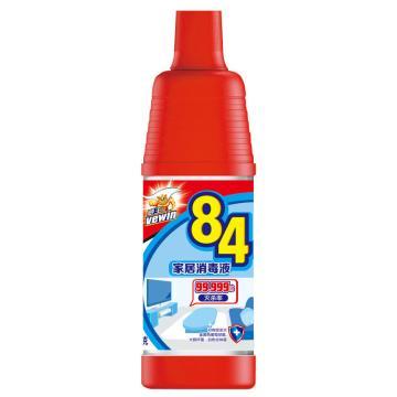 立白 威王 600克 84家居消毒液,20瓶/箱 單位:瓶
