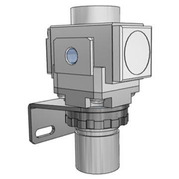 SMC 直动式精密减压阀,ARP20-01BE-1
