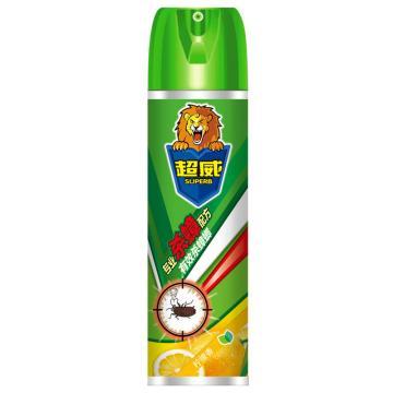 立白 超威殺蟑氣霧劑,黃檸檬香 600ml,12瓶/箱 單位:瓶