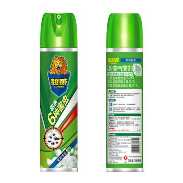 立白 超威杀虫气雾剂,茉莉花香 300毫升,24瓶/箱 单位:瓶