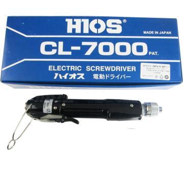 好握速HIOS 电动起子电动扭力起子机扭力起子电动扭力螺丝刀电批电批,拉杆启动式,0.3-2.5Nm,圆形夹头,裸机不含电源,不带批头,CL-7000