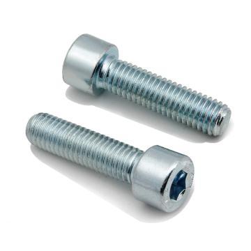 8.8级GB70.1全牙内六角圆柱头螺栓,M10-1.5X30,镀锌,100个/包