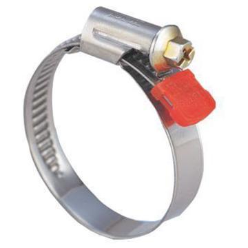 东洋克斯/TOYOX FS-20 半不锈钢胶管夹,适用软管外径13-20mm