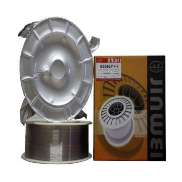 北京金威E308LT1-1不锈钢用药芯焊丝,直径1.2mm,12.5公斤/箱