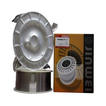 北京金威E309LT1-1不锈钢用药芯焊丝,直径1.2mm,12.5公斤/箱