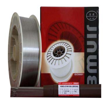 北京金威ER308,TIG不锈钢焊丝,直径1.0mm,5公斤/筒