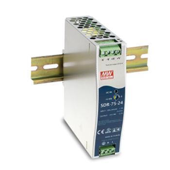 明纬 开关电源,SDR-75-24