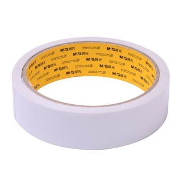 晨光 M&G棉纸双面胶带,AJD97351 24mm*10y 1卷/袋 单位:袋